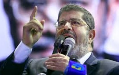 Egypt's Morsi back on trial over jailbreak