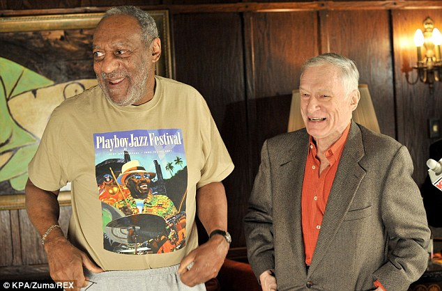 Hot to trot cosby was wild about the bunnies at the playboy mansion