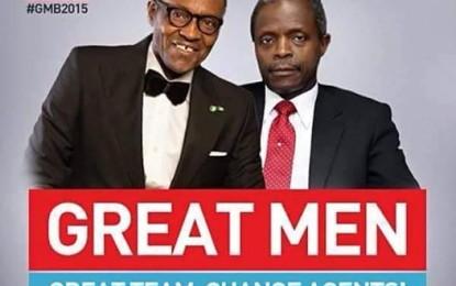 Solidarity campaign day for General Mohamodu Buhari / Pastor(Prof) Osibajo