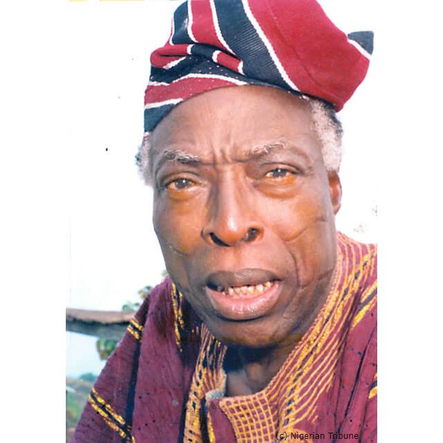 Veteran actor and broadcaster Chief Adebayo faleti dies at 86