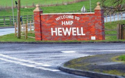 UK: Tornado riot squad called to HMP Hewell incident