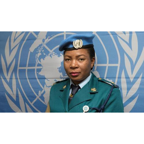 Zimbabwean policewoman wins UN's world female police peacekeeper award