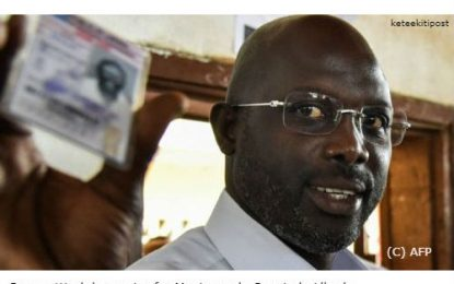 Liberia election latest: Ex-football star George Weah takes early lead