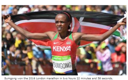 Four-year doping ban for Kenyan Olympic marathon champion