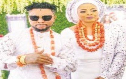 Dancehall artiste Oritsefemi also weds Nabila in Lagos