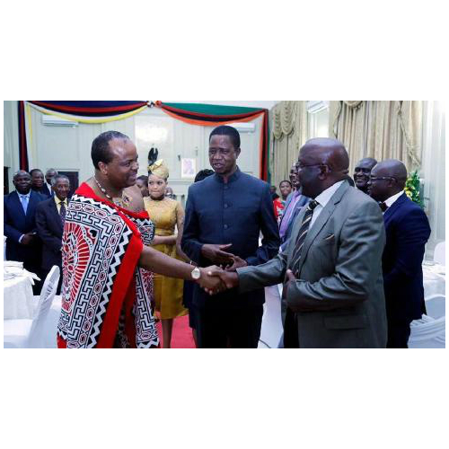 Swaziland: Two months after picking 14th wife, King visits Zambia with wife number 13