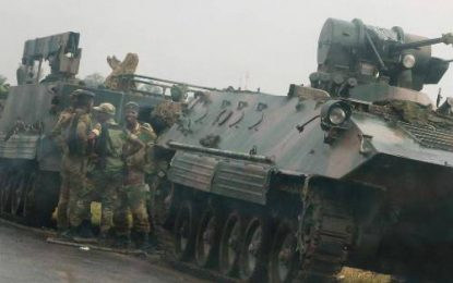 BREAKING NEWS: Army 'secures' Robert Mugabe and takes control of Harare (Video)