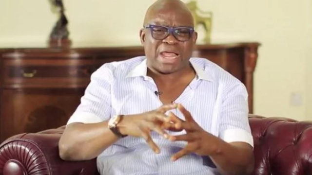 Fayose to APC: You've more years to stay in trenches