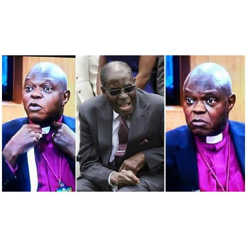 Archbishop of York restores dog collar ending his 10-year Mugabe protest