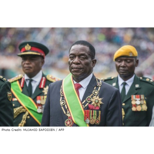 Zimbabwe: Soldier who announced Mugabe ouster is new foreign minister