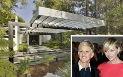 Ellen and Portia sell designer home in LA for $55m