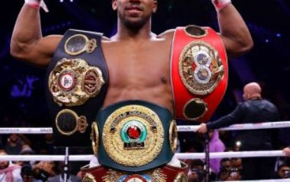 'I want the boys at the top' – Joshua eyes up Fury, Whyte & Usyk