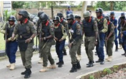 NSCDC deploys 725 personnel to enforce sit-at-home order in Ekiti, Edo, Oyo